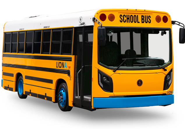 LionA - All-Electric, Zero-Emission EV School Buses | Lion Electric