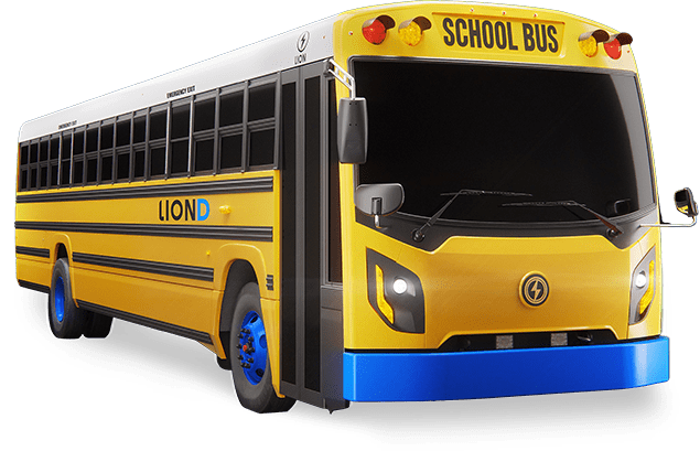 LionD - All-Electric, Zero-Emission EV School Buses | Lion Electric